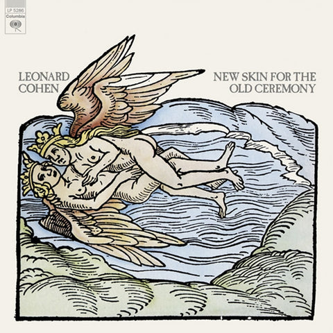 Leonard Cohen - New Skin For The Old Ceremony on LP - direct audio