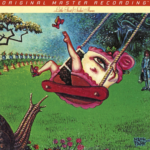 Little Feat - Sailin' Shoes on Numbered Limited-Edition 180g LP from Mobile Fidelity - direct audio