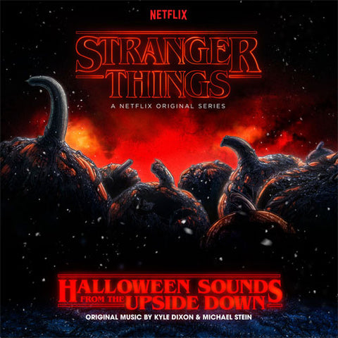 Kyle Dixon and Michael Stein Stranger Things Halloween Sounds From The Upside Down Colored Vinyl LP