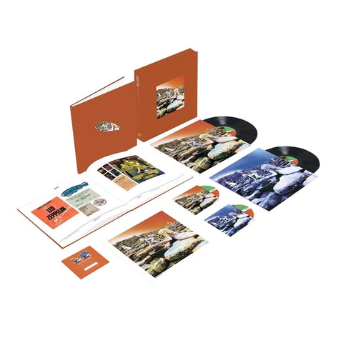 Led Zeppelin - Houses of the Holy: Super Deluxe Edition on 180g Vinyl 2LP + 2CD Box Set - direct audio
