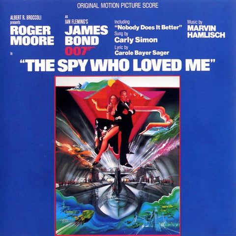 James Bond - The Spy Who Loved Me: Original Motion Picture Soundtrack on Limited Edition 180g LP - direct audio