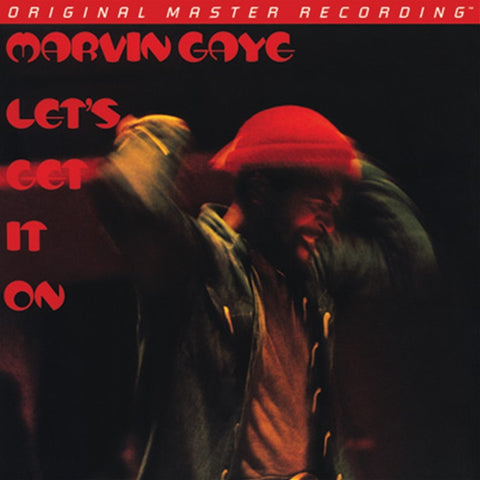 Marvin Gaye - Let's Get It On on Numbered Limited-Edition Hybrid SACD from Mobile Fidelity - direct audio