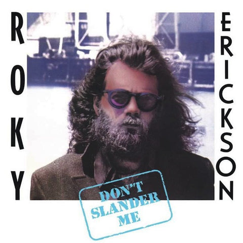 Roky Erickson - Don't Slander Me on 2LP w/ D-Side Etching + Book + Download - direct audio