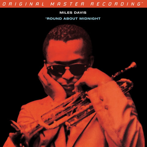 Miles Davis - 'Round About Midnight on Numbered Limited Edition Hybrid Mono SACD from Mobile Fidelity - direct audio