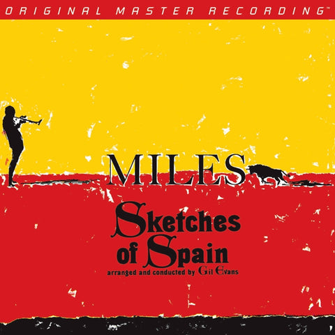 Miles Davis - Sketches of Spain on Numbered Limited Edition 180g LP from Mobile Fidelity - direct audio