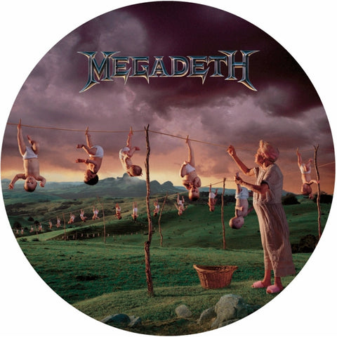 Megadeth - Youthanasia on Picture Disc LP - direct audio
