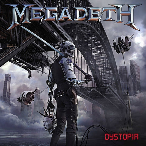 Megadeth - Dystopia on Limited Edition LP - direct audio