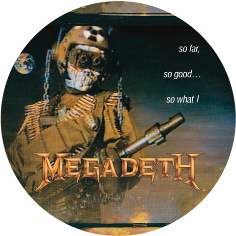 Megadeth - So Far, So Good, So What on Picture Disc LP - direct audio