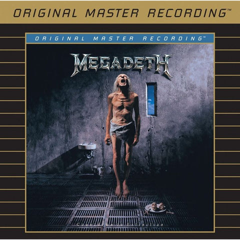Megadeth - Countdown to Extinction on Numbered Limited Edition 24K Gold CD from Mobile Fidelity - direct audio
