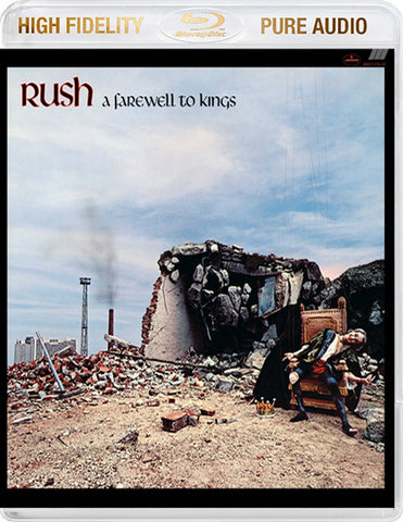 Rush - A Farewell To Kings Blu-Ray Pure Audio Disc