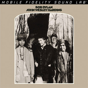 Bob Dylan - John Wesley Harding on Numbered Limited Edition Hybrid SACD from Mobile Fidelity - direct audio
