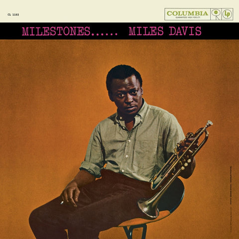 Miles Davis - Milestones on Numbered Limited Edition 180g Vinyl LP Mono - direct audio