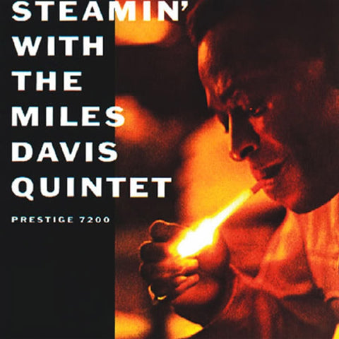 Miles Davis - Steamin' With The Miles Davis Quintet on Vinyl LP - direct audio