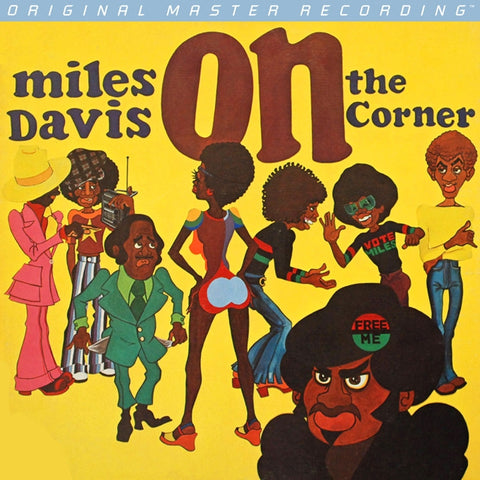 Miles Davis - On the Corner on Numbered Limited Edition 180g LP from Mobile Fidelity - direct audio