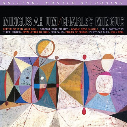 Charles Mingus - Mingus Ah Um Numbered Hybrid SACD (Out Of Stock) Pre-order - direct audio