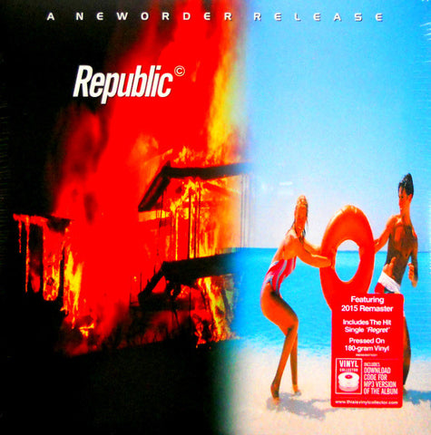 New Order - Republic 180g Vinyl LP - direct audio