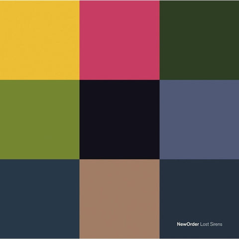New Order - Lost Sirens Import Vinyl LP + CD - direct audio