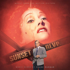 Sunset Boulevard: Classic Film Scores For Franz Waxman on Numbered Limited Edition 180g 45RPM 2LP TBA - direct audio
