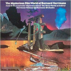 Bernard Herrmann: The Mysterious Film World Of Bernard Herrmann Numbered Limited Edition on 180g 45RPM 2LP January 27 2017 Pre-order - direct audio