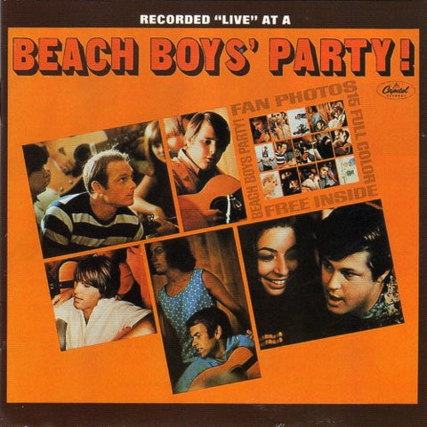 The Beach Boys - Beach Boys' Party! on Hybrid Stereo/Mono SACD - direct audio