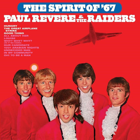 Paul Revere And The Raiders - The Spirit of 67' on Limited Edition Colored 180g LP - direct audio