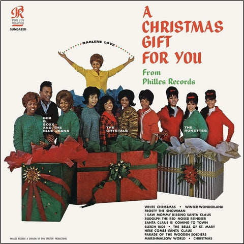 A Christmas Gift For You From Phil Spector.A Christmas Gift For You Phil Spector Various Artists 180g Vinyl Lp
