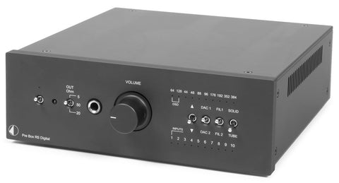 Pro-Ject - Pre Box RS Preamp Digital - direct audio