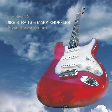 Dire Straits and Mark Knopfler The Best of - Private Investigations on Import 2LP - direct audio