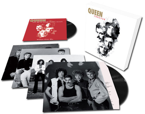 "Queen - Queen Forever on Limited Edition Import 180g 4LP + 12"" Single Box Set - direct audio"