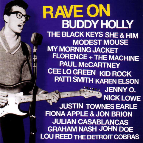 Buddy Holly Rave On Buddy Holly Various Artist On 180g