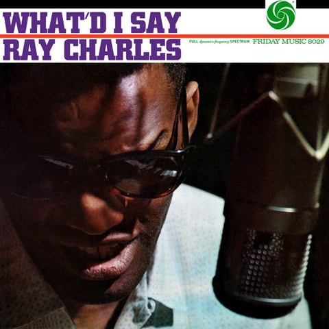 Ray Charles - What'd I Say on Limited Edition 180g LP - direct audio