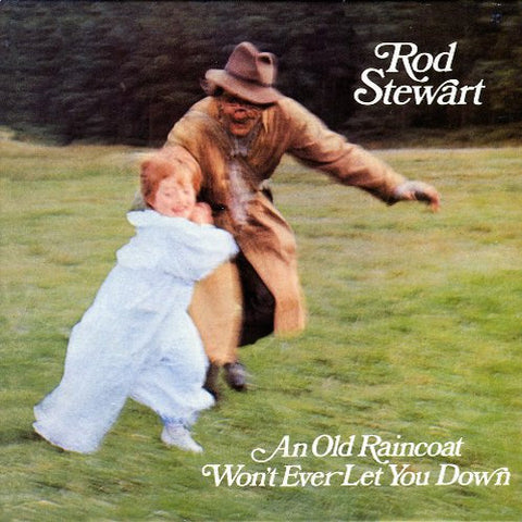 Rod Stewart - An Old Raincoat Won't Ever Let You Down on 180g LP - direct audio