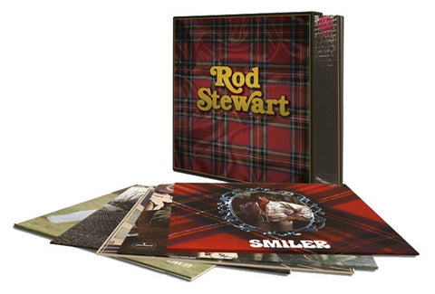 Rod Stewart - Rod Stewart Vinyl Box Set on Limited Edition 180g Vinyl 5LP - direct audio