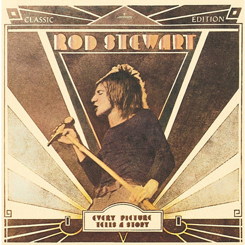 Rod Stewart - Every Picture Tells A Story on 180g LP - direct audio