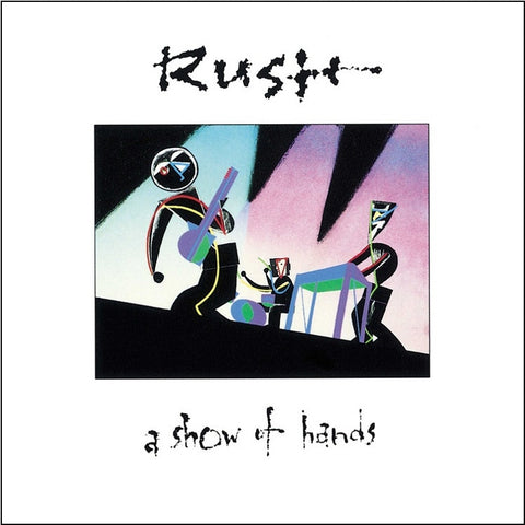 Rush - A Show Of Hands 200g Vinyl 2LP + Download - direct audio
