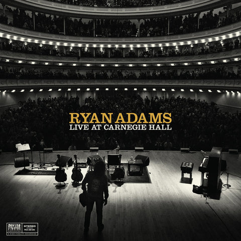 Ryan Adams - Ten Songs From Live At Carnegie Hall on LP + Download - direct audio