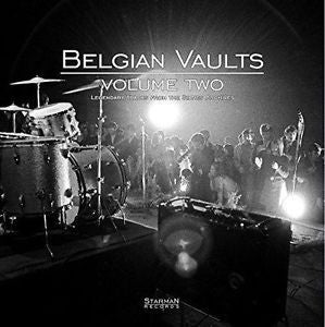 Belgian Vaults Volume Two - Various Artists Limited Edition 180g Vinyl + CD - direct audio