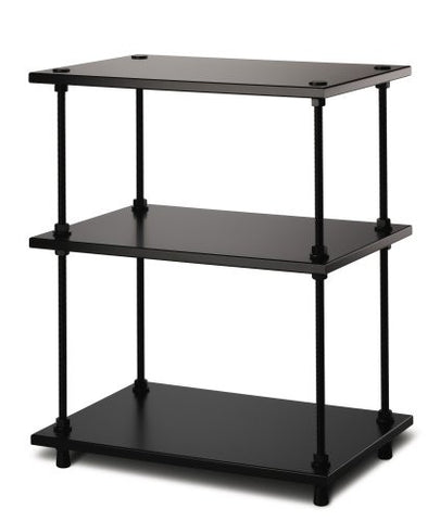 Salamander Designs - Archetype 3-Shelf Audio Stand (Black) - direct audio