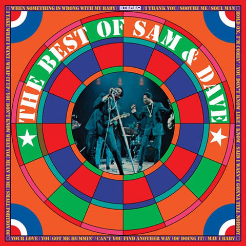 Sam & Dave - The Best of Sam And Dave Colored 180g Vinyl LP - direct audio