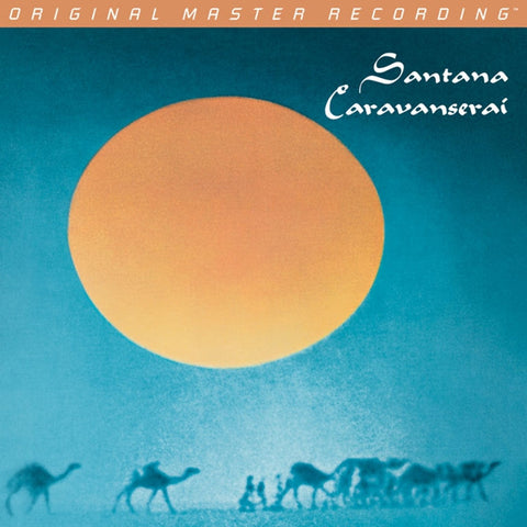 Santana - Caravanserai on Numbered Limited Edition Hybrid SACD from Mobile Fidelity - direct audio