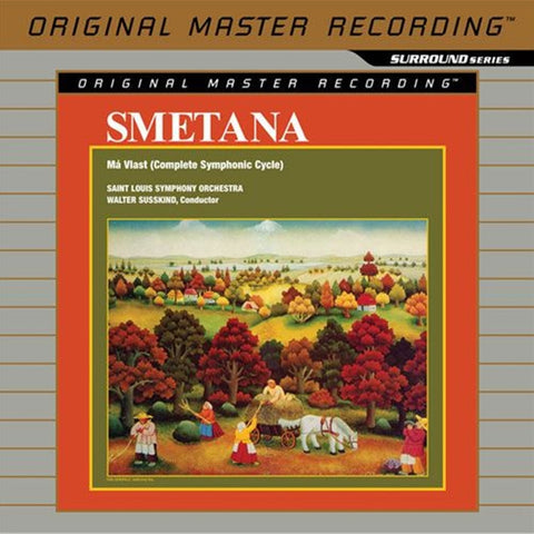 Smetana - Ma V'last on Limited-Edition Hybrid 4.0 SACD from Mobile Fidelity - direct audio