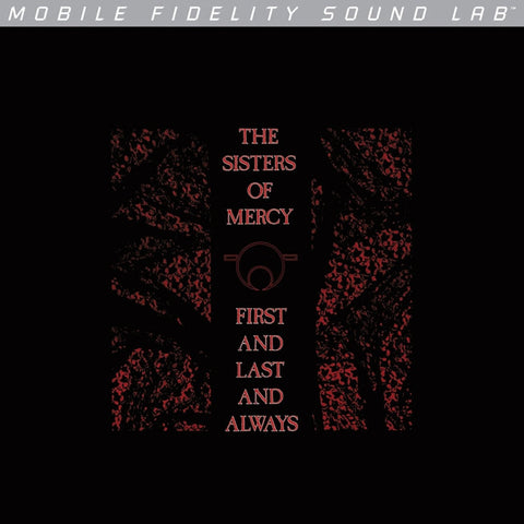 Sisters of Mercy - First And Last And Always on Numbered Limited Edition LP from Mobile Fidelity Silver Label - direct audio