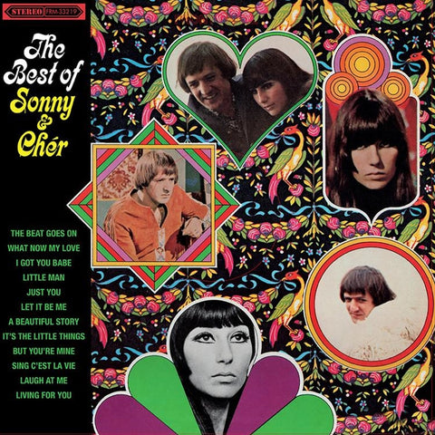 Sonny And Cher - The Best Of Sonny And Cher on Limited Edition 180g LP - direct audio