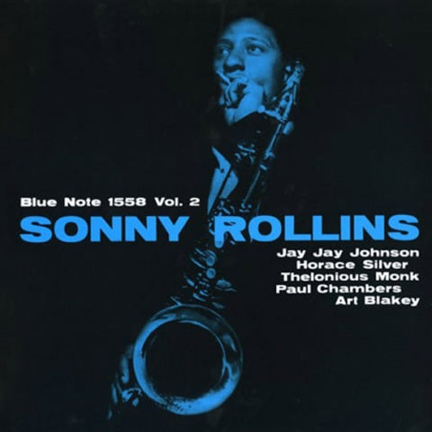 Sonny Rollins - Volume 2 on Vinyl LP - direct audio