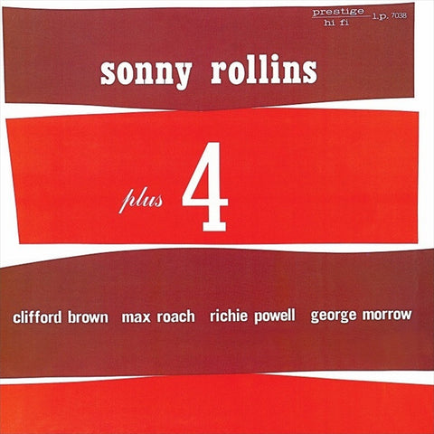 Sonny Rollins - Plus 4 on LP - direct audio