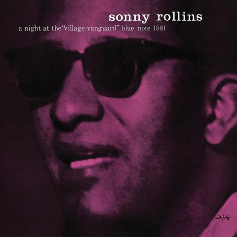 Sonny Rollins - A Night At The Village Vanguard Vinyl LP - direct audio
