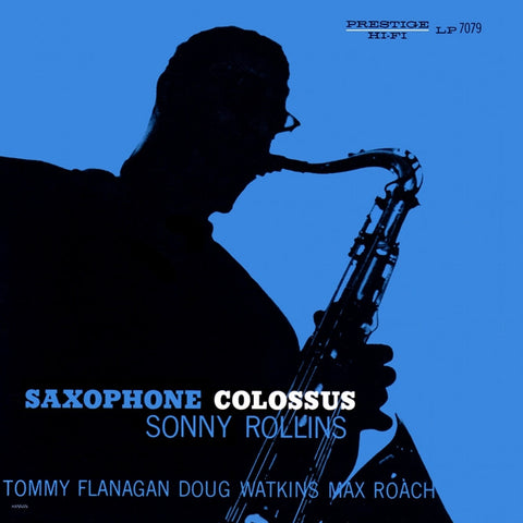 Sonny Rollins - Saxophone Colossus on Hybrid SACD Mono - direct audio