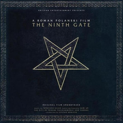 Wojciech Kilar - The Ninth Gate Original Film Soundtrack on Limited Edition 180g 2LP - direct audio