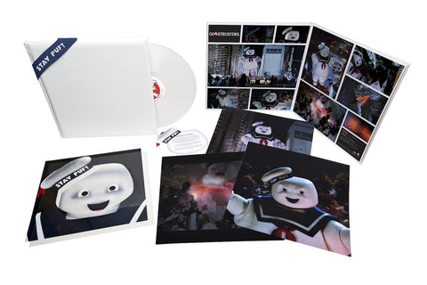 "Ghostbusters: Stay Puft Edition Super Deluxe Vinyl on Limited Edition Scented White Colored 12"" Vinyl - direct audio"