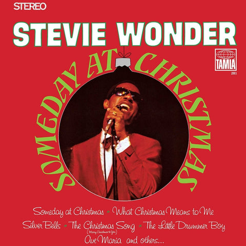 Stevie Wonder - Someday At Christmas on LP - direct audio